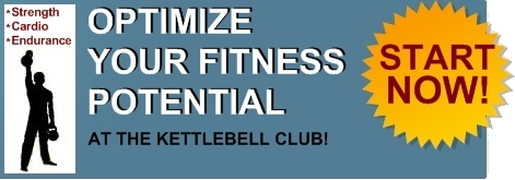 Start optimizing your fitness potential at the Kettlebell Club