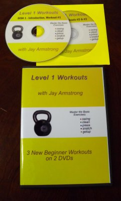 Level 1 Workouts DVD - Jay Armstrong